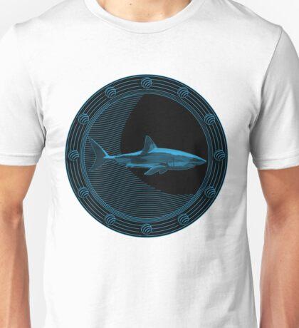 Engraved Shark Unisex T-Shirt