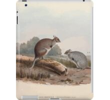 A monograph of the Macropodidæ or family of kangaroos John Gould 1842 012 Lagorchestes Lepoides iPad Case/Skin