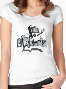 Handheld Women's Fitted Scoop T-Shirt