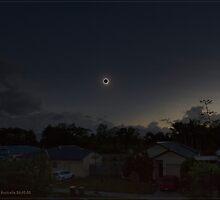 Cairns Total Solar Eclipse 14-11-2012 by Chris Cohen
