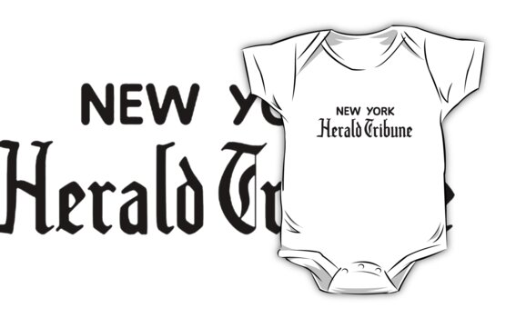 """New York Herald Tribune!""  by adrienne75"