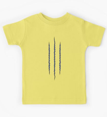 Wolverine Claw Tear Kids Tee