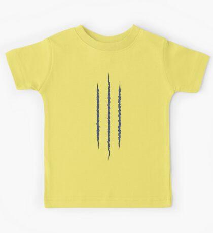 Wolverine Claw Tear Kids Tee
