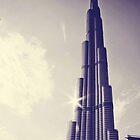Burj Khalifa Tower, Dubai by sylvianik