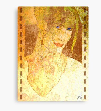 Movie Star Canvas Print