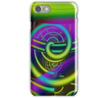Cool abstract spiral case iPhone Case/Skin