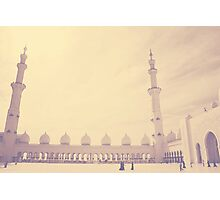 Sheikh Zayed Grand Mosque Photographic Print