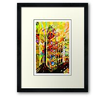 The Corner of Framed Print