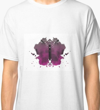 Rorschach test in color Classic T-Shirt