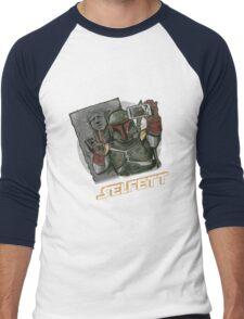 SELFETT Men's Baseball ¾ T-Shirt
