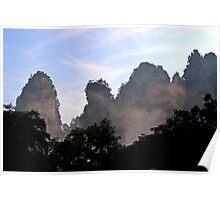 Wulingyuan National Park, Hunan Poster