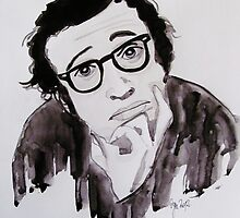 """ Woody Allen"" by Oya Noya"