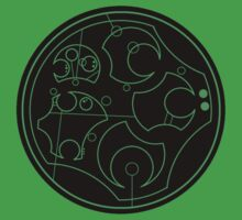Gallifreyan Second Breakfast - Black by Marmadas