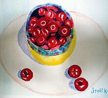 Bowl Of Cherries by jyoti kumar