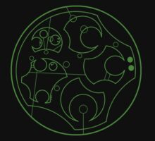 Gallifreyan Second Breakfast - Outline by Marmadas