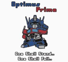Optimus Prime - One Shall Stand.. Kids Tee