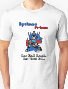 Optimus Prime - One Shall Stand.. T-Shirt