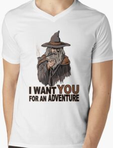 I WANT YOU FOR AN ADVENTURE Mens V-Neck T-Shirt