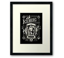 The Iceberg Lounge Framed Print