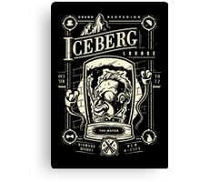 The Iceberg Lounge Canvas Print