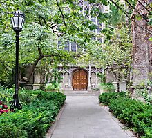Bond Chapel Entrance by James Watkins