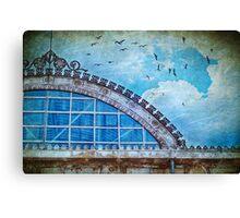 Old deposit detail Canvas Print