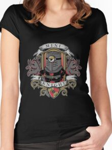 MINI KNIGHT Women's Fitted Scoop T-Shirt