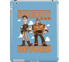 Serenity and Beyond iPad Case/Skin