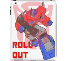 Optimus Prime - Roll Out iPad Case/Skin
