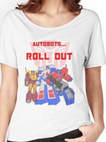 Roll Out Autobots! Women's Relaxed Fit T-Shirt