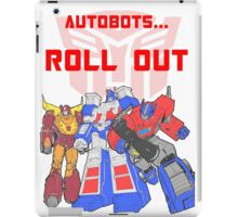 Roll Out Autobots! iPad Case/Skin
