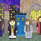 8th Doctor and his companions by HappyDoctors