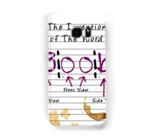Invention of The Word Boob Samsung Galaxy Case/Skin