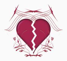 Broken Heart & Tribal Graphics by bradyarnold