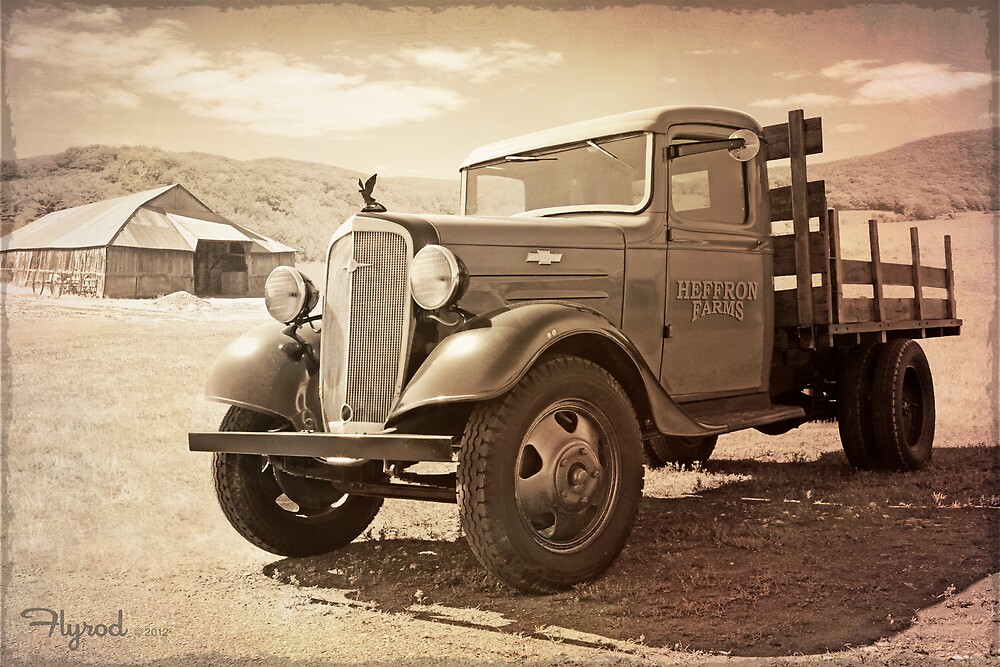 Hot August Chevy by flyrod