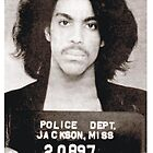 "Prince Mugshot ""the Artist formally known as free""  by BUB THE ZOMBIE"