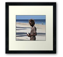 Street photo - Malindi 47 Framed Print