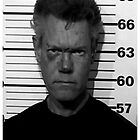 Randy Travis Mugshot  by BUB THE ZOMBIE