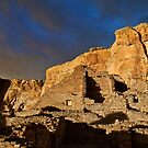 Chaco Canyon Stormlight 2 by Kim Barton
