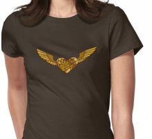 Steampunk Heart Womens Fitted T-Shirt