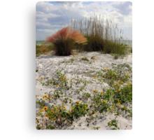 Beach Garden ~ Part Two Canvas Print