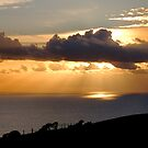 Rays over Lyme Bay by Gary Heald LRPS