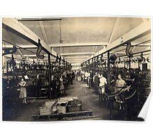 Palmer and Mackay Weaving Shed Trowbridge Poster