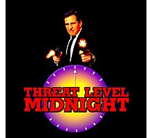 Threat Level: Midnight Photographic Print