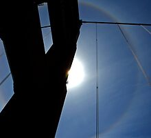 Golden Gate Bridge Solar Halo by Michiel Meyboom