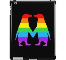 Rainbow penguins in love. iPad Case/Skin