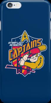 Starfleet Academy Captains Baseball by Joe Dugan