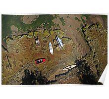 Boats on the Saltmarsh Poster