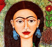 My homage to Frida by Madalena Lobao-Tello