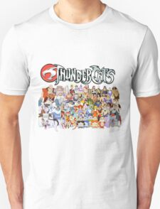Unisex Thundercats Cartoon Character T-shirt
